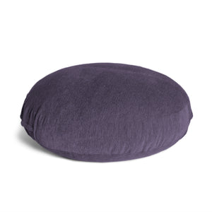 Plum Chenille 4 Foot Jaxx Cocoon Bean Bag Chair