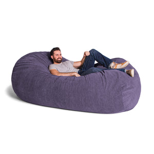Plum Chenille 7 Foot Jaxx Lounger