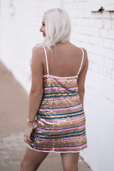 Birthday Suit Sequin Dress