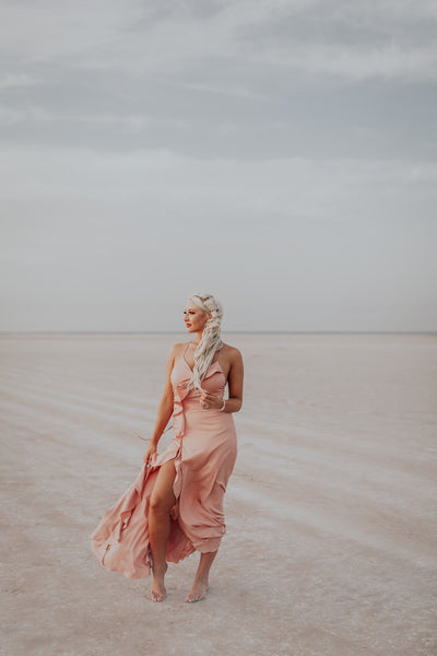 Moon Dust Blush Dress
