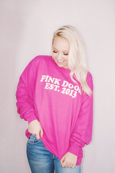 pink door fall 18 long sleeve magic potion