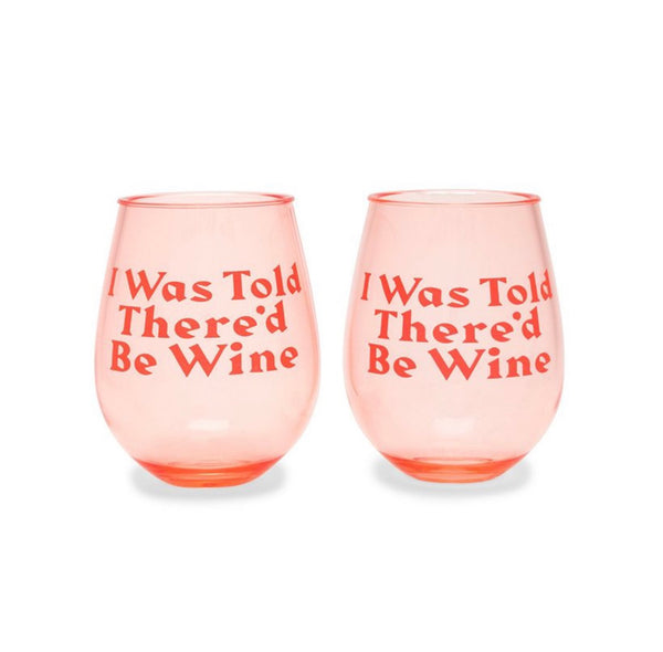 ban.do I was told there'd be wine tumbler set