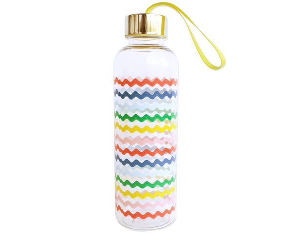 packed party making waves water bottle