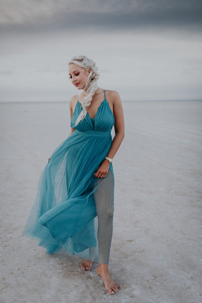 Let It Go Aqua Dress