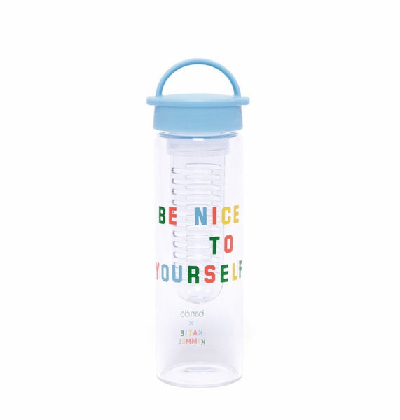 Ban.do infuser water bottle- Be Nice to Yourself