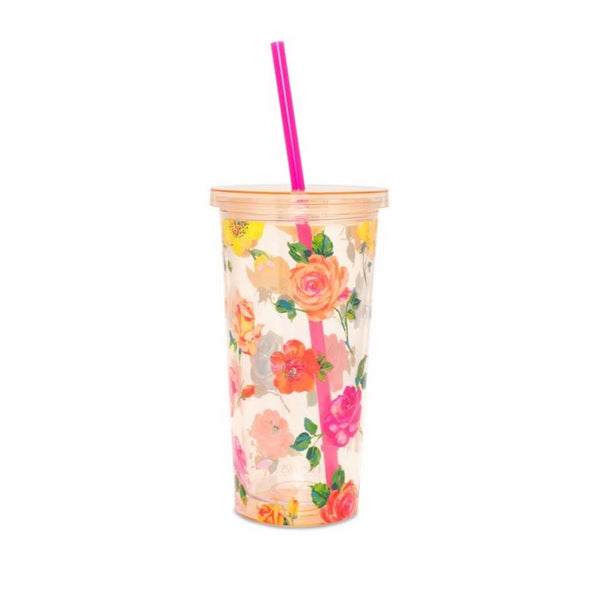 ban.do sip sip tumbler coming up roses