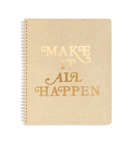 Ban.do large notebook- Make it All Happen