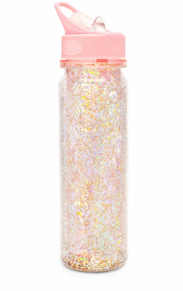 Ban.do glitter bomb water bottle pink stardust