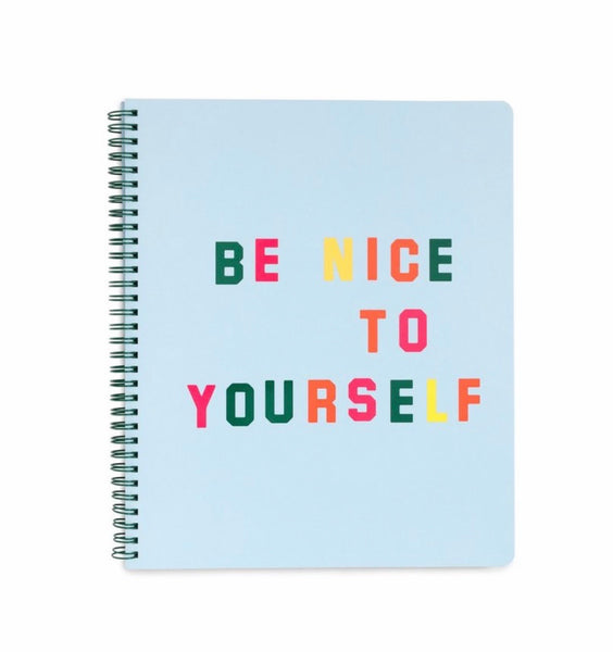 Ban.do large notebook- be nice to yourself