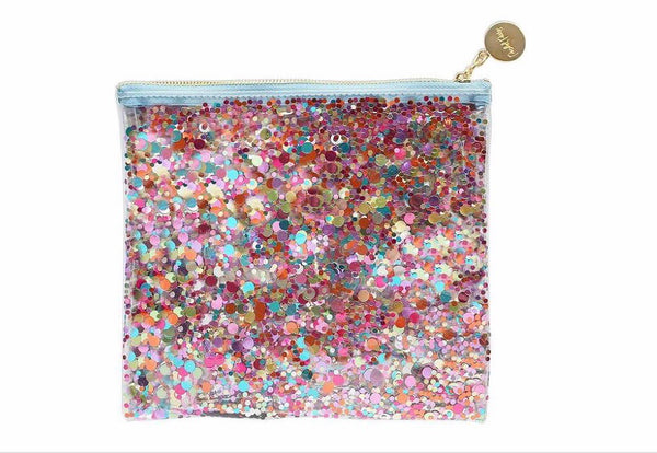 Packed Party Everything Pouch Multi Glitter