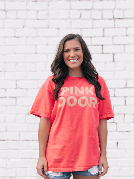 PINK DOOR Tequila Sunrise Tee