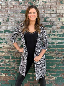Snow Leopard Jacket Coat