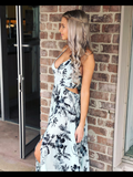 Lille Printed Maxi Dress