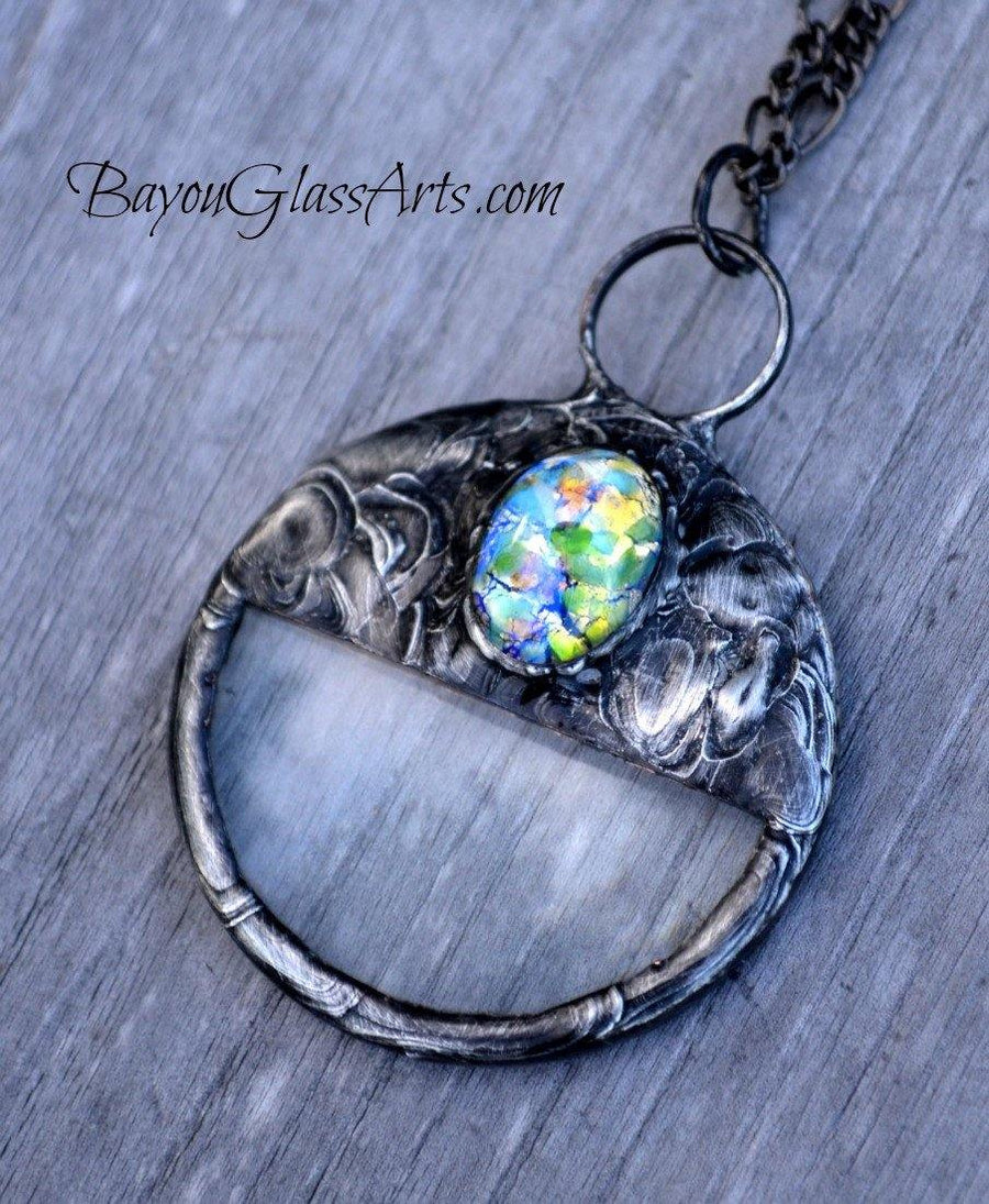 Handmade Magnifying Glass Pendant