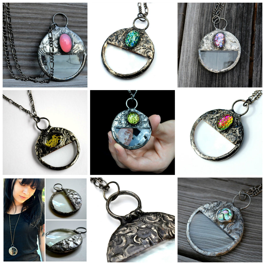 Assortment of Many Magnifier Pendants