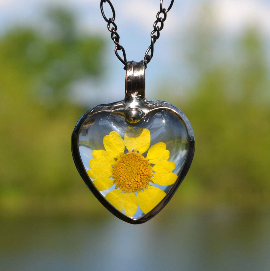 Sunflower Necklace Handmade for Woman for Special Occasions