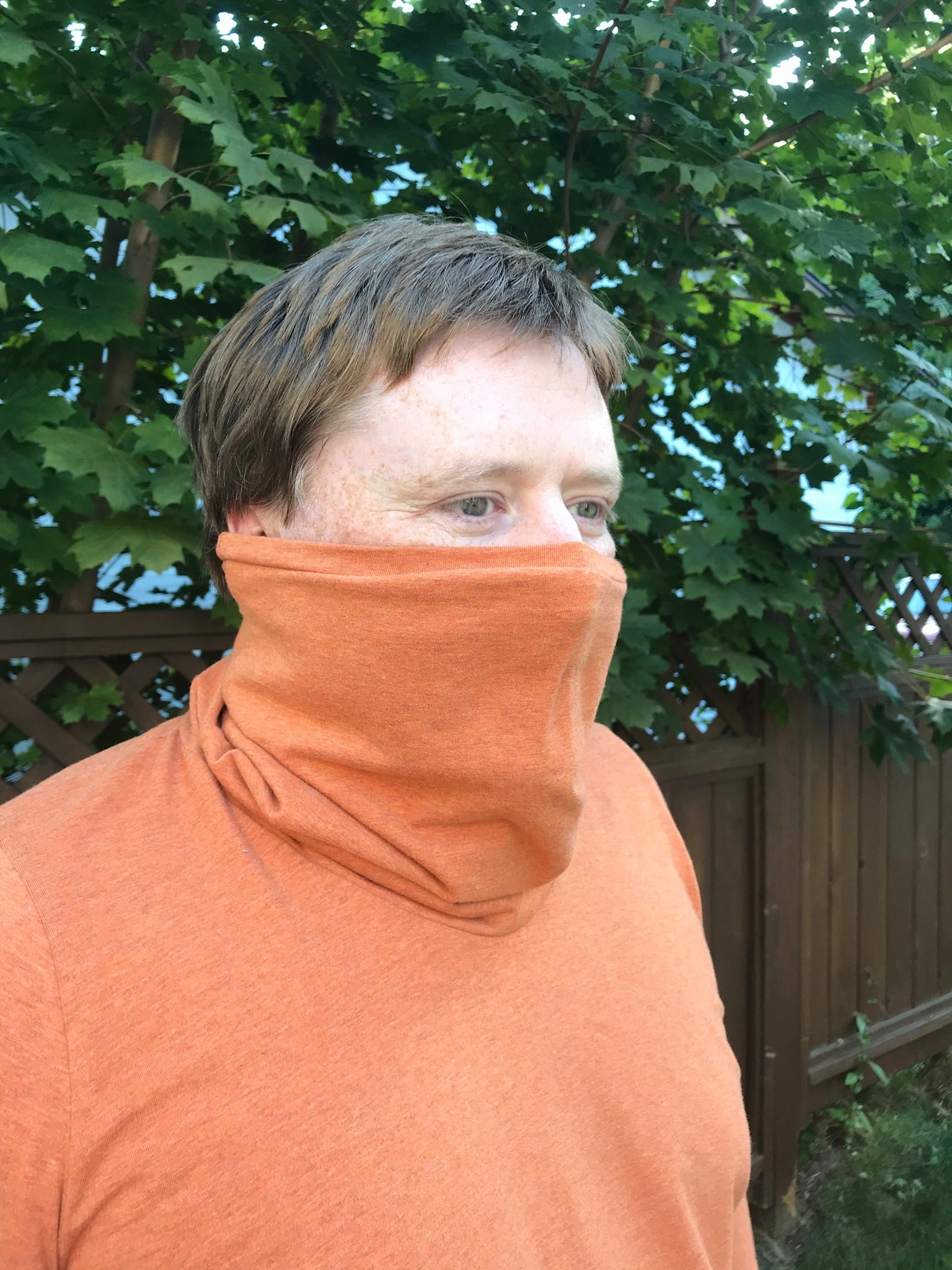 Later Gaiter Shirt for Adults - PDF SEWING PATTERN - Projector/A0 files included