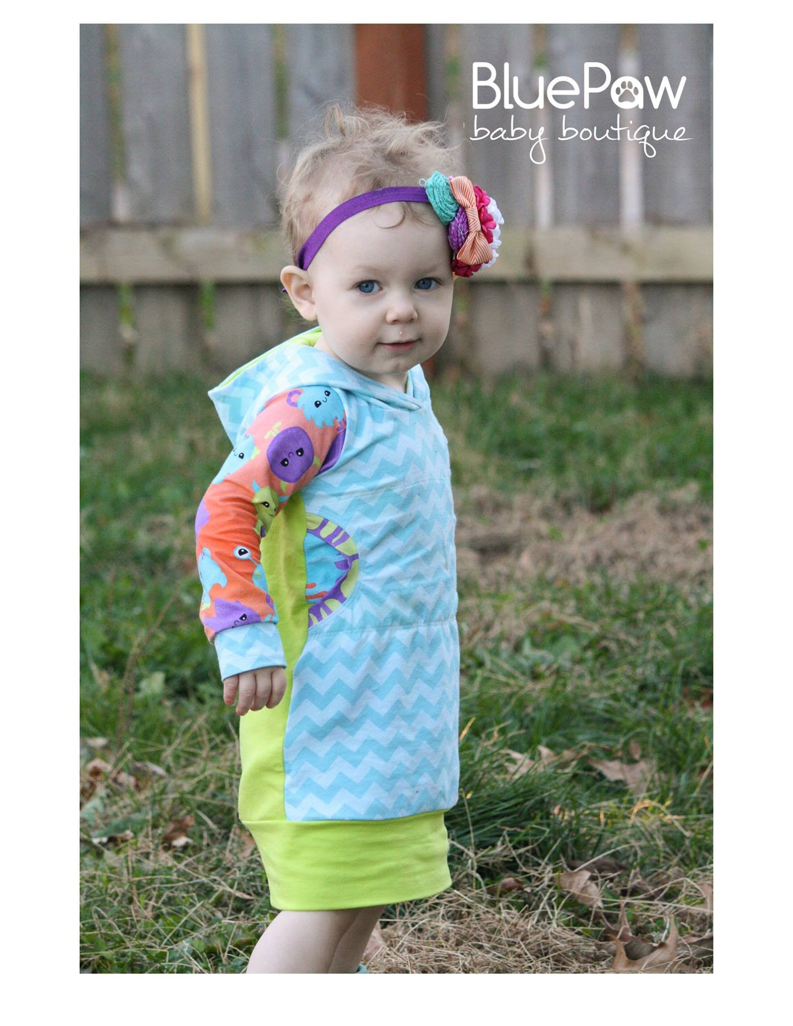 Meena's Tunic Dress PDF sewing pattern