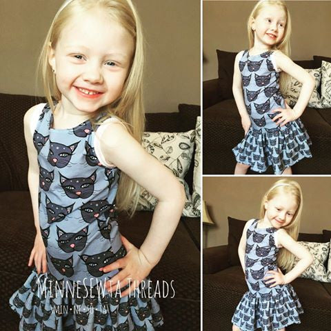 Maritime Dress PDF Sewing pattern