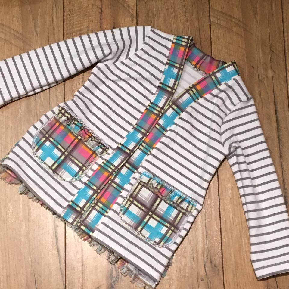 Alexa Cardigan sewing PDF