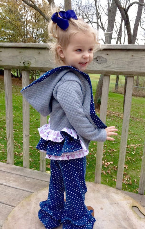Alexa Cardigan & Belle Bottoms BUNDLE (BOTH PATTERNS INCLUDED) Sewing PDF