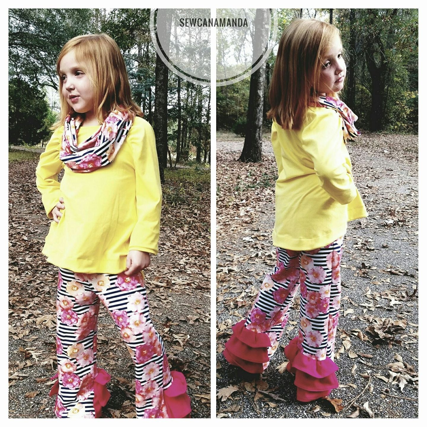 Belle Bottoms PDF sewing pattern