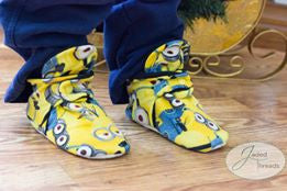 Banana Booties Sewing PDF pattern