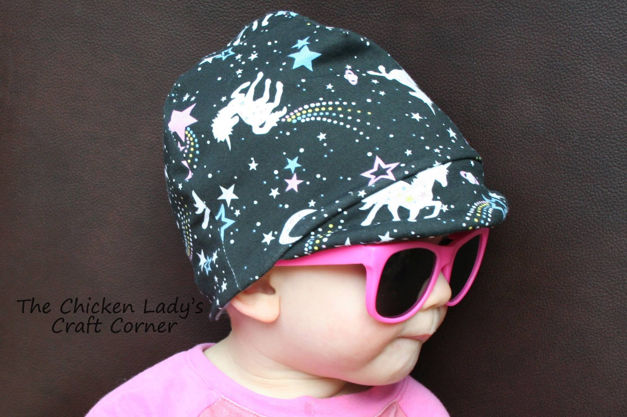 Melon Cap Sewing PDF pattern