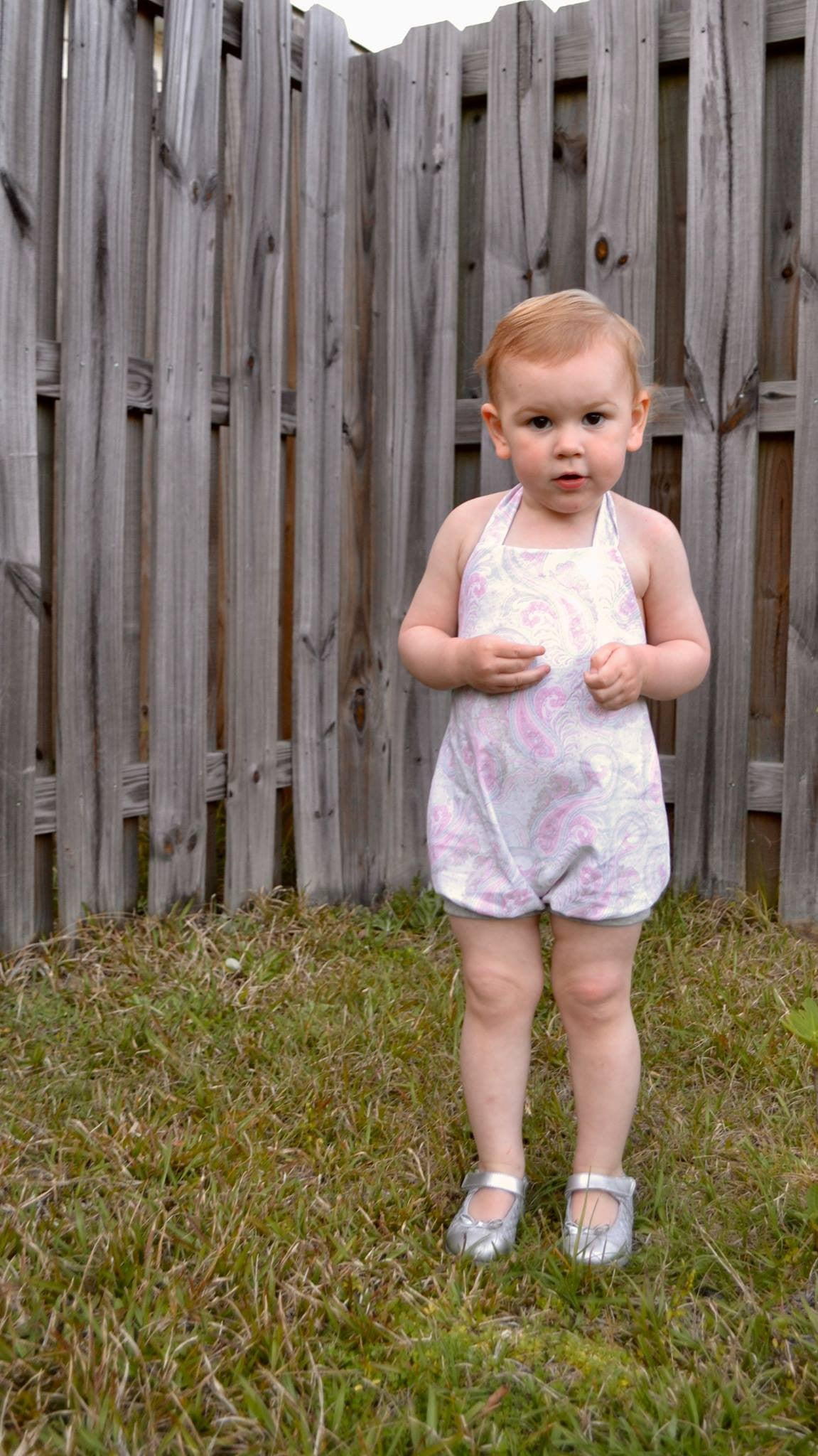 Bitty Bubble Romper and Bubble Bottoms SEWING PDF PATTERN