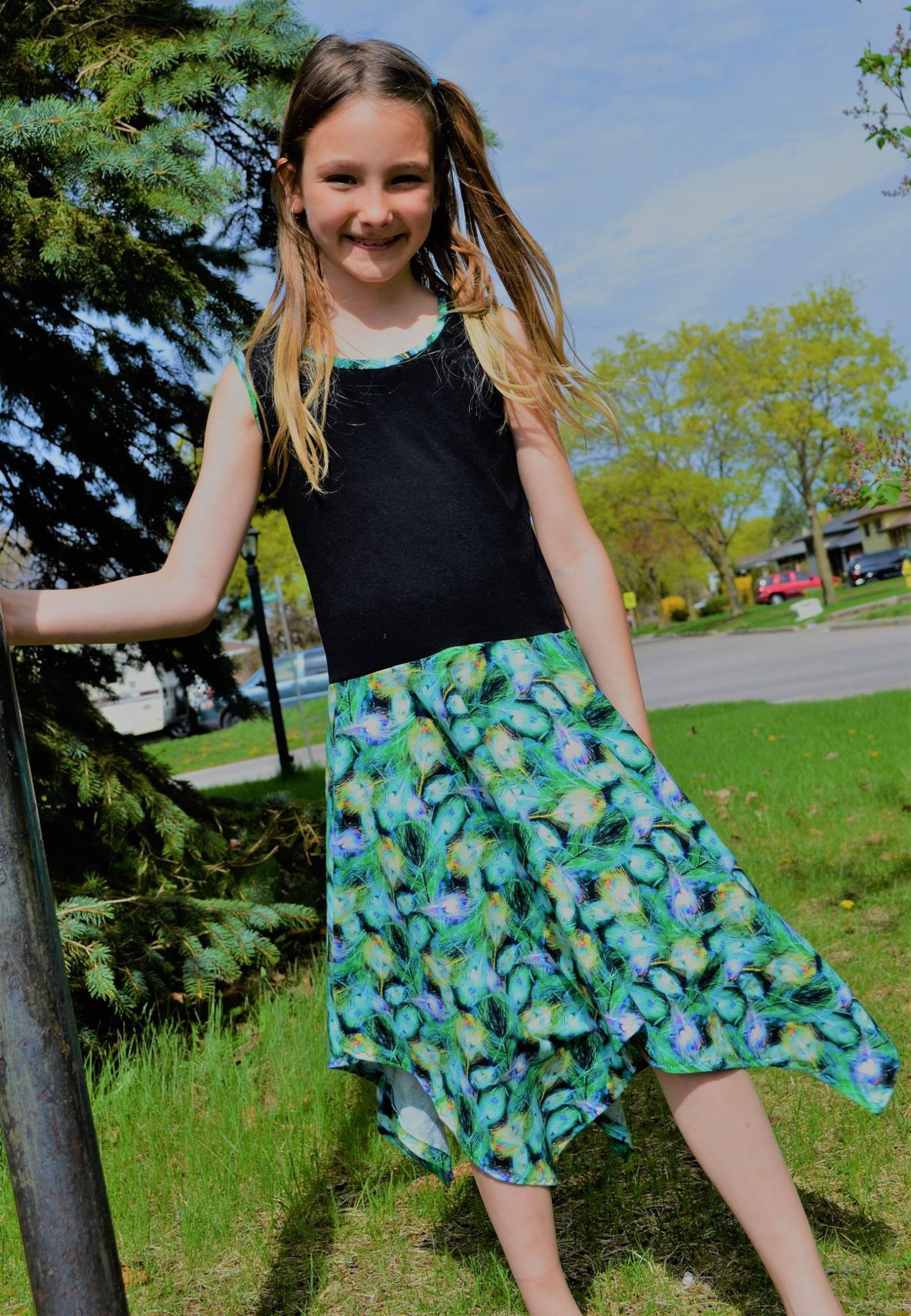 Rozzlyn Dress, Peplum Top, & Skirt SEWING PDF pattern
