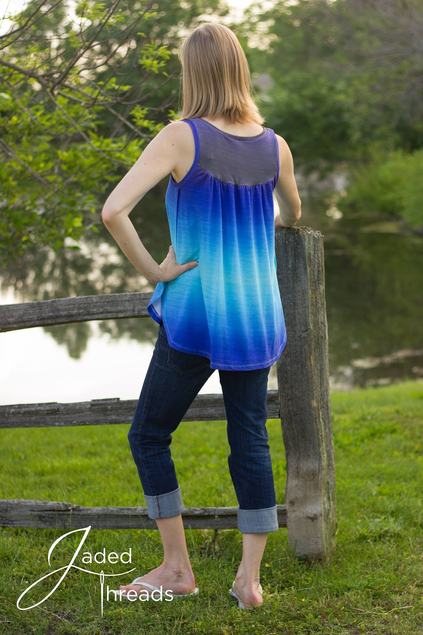 Sea Breeze Top -Womens SEWING PDF