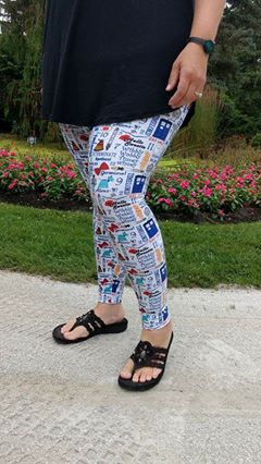 WOMEN'S 20K Leggings  PDF SEWING PATTERN