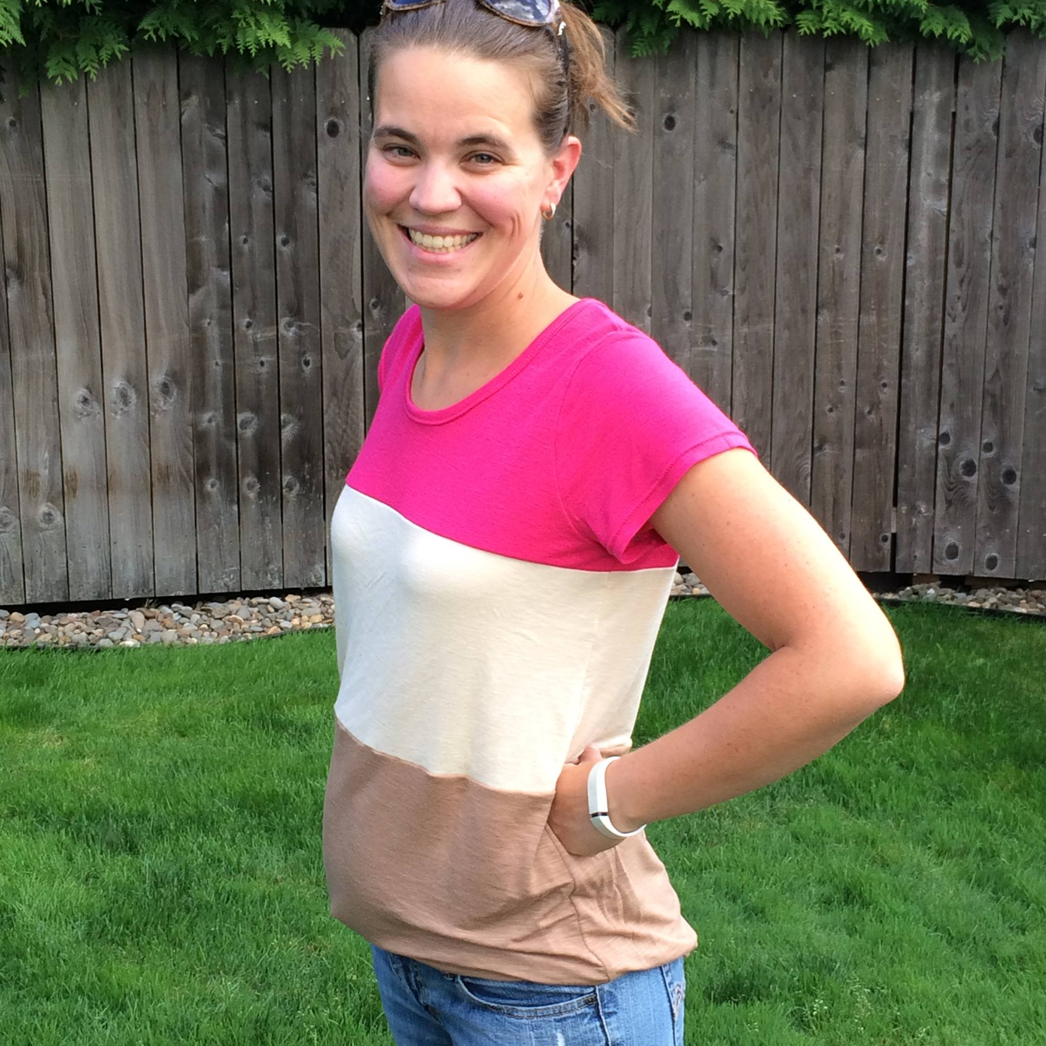 Neapolitan Tee for Women SEWING PDF PATTERN