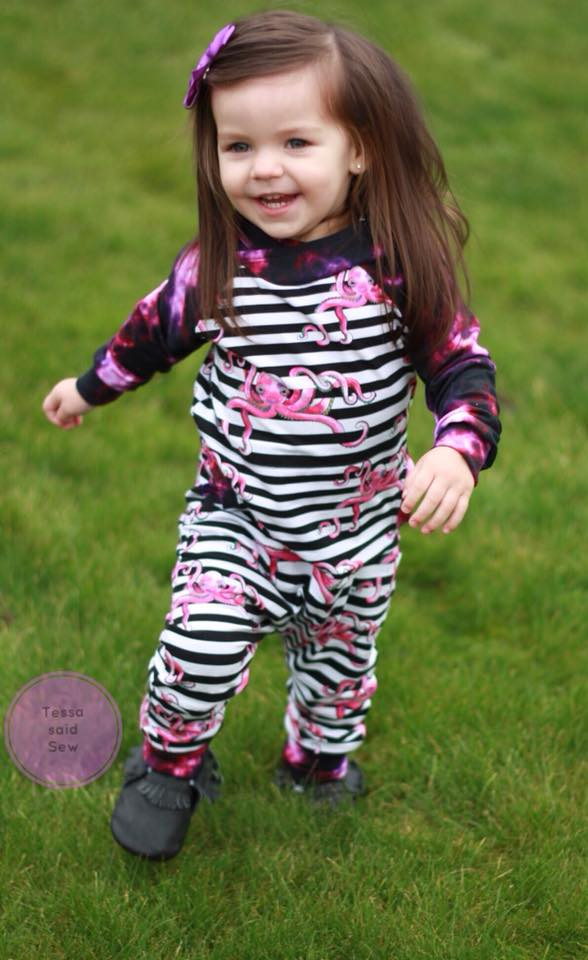 All The Rage Romper PDF SEWING PATTERN
