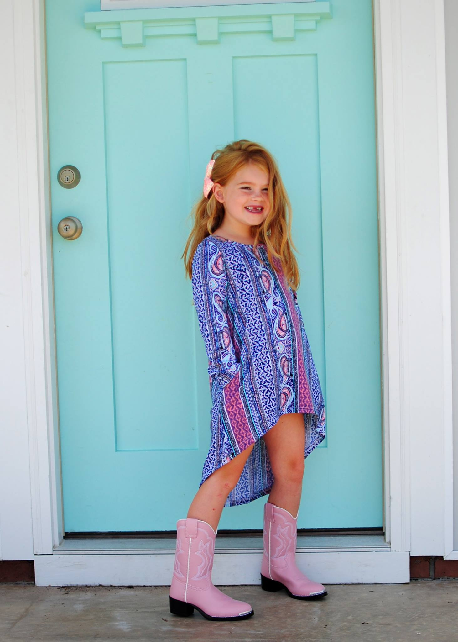 Girls Hilo Tunic Dress PDF Sewing pattern (A0 file included)