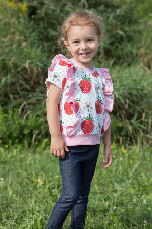 Iced Tee Top SEWING PDF PATTERN