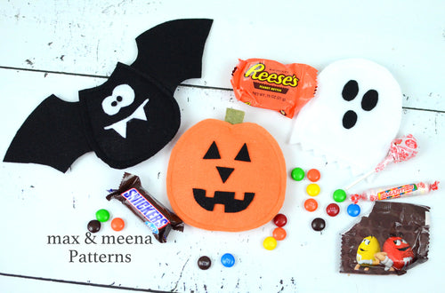 Halloween Treat Bags PDF sewing pattern