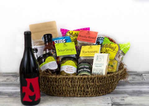 Taste of Santa Cruz Grand Gift Basket w/ Syrah - SOLD OUT