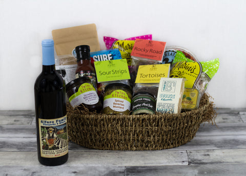 Taste of Santa Cruz Grand Gift Basket w/ Zinfandel