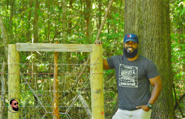 Christopher Joe of Joe's Black Angus Farm and Connecting with Birds and Nature Tours in Newbern, Alabama