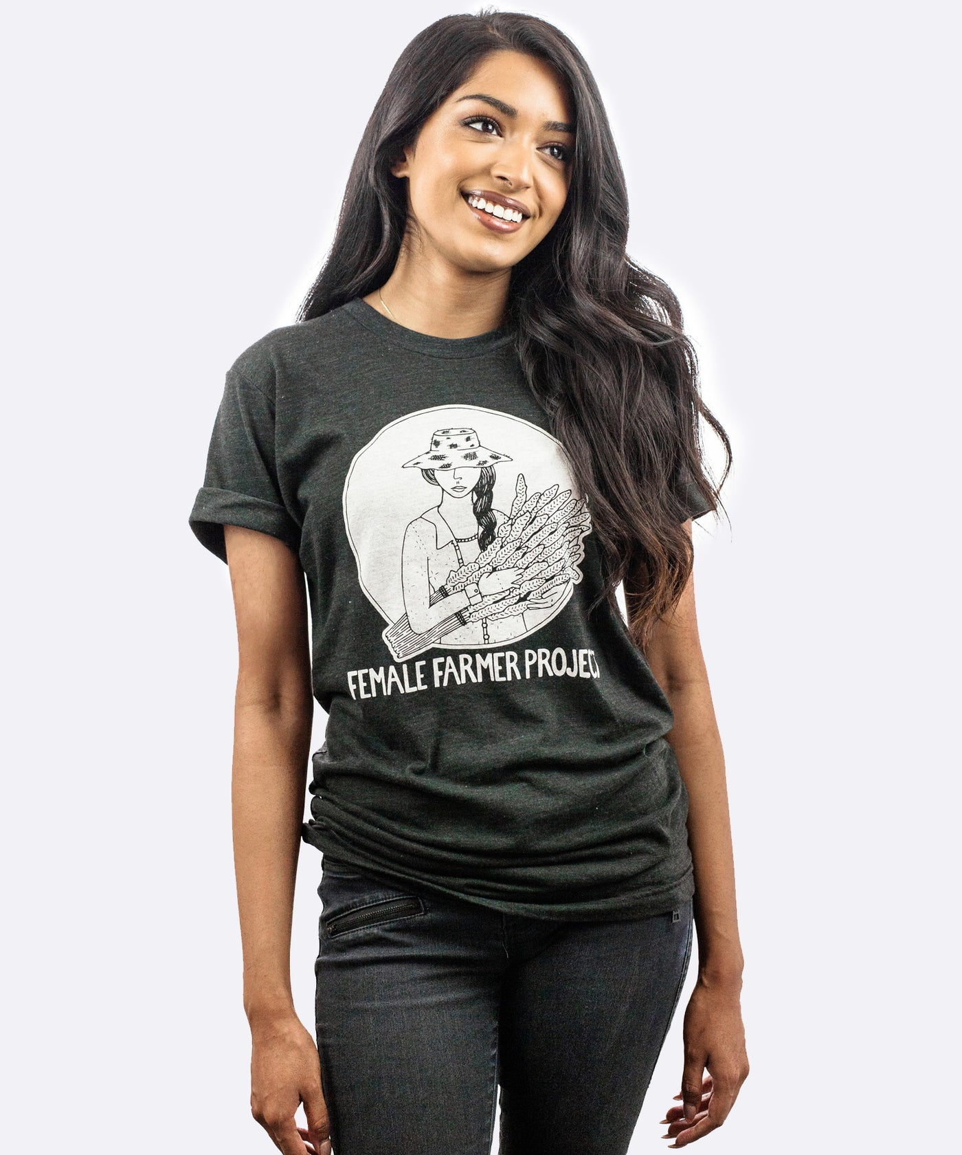 Female Farmer Project T-Shirt