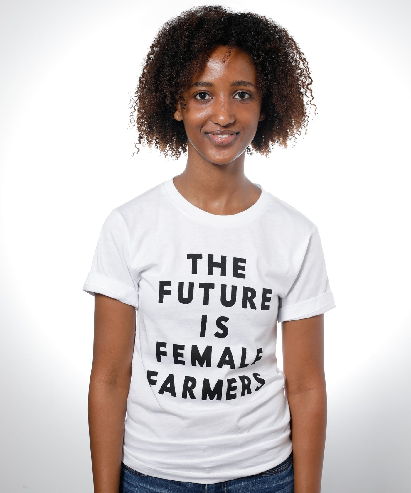 The Future is Female Farmers T-Shirt