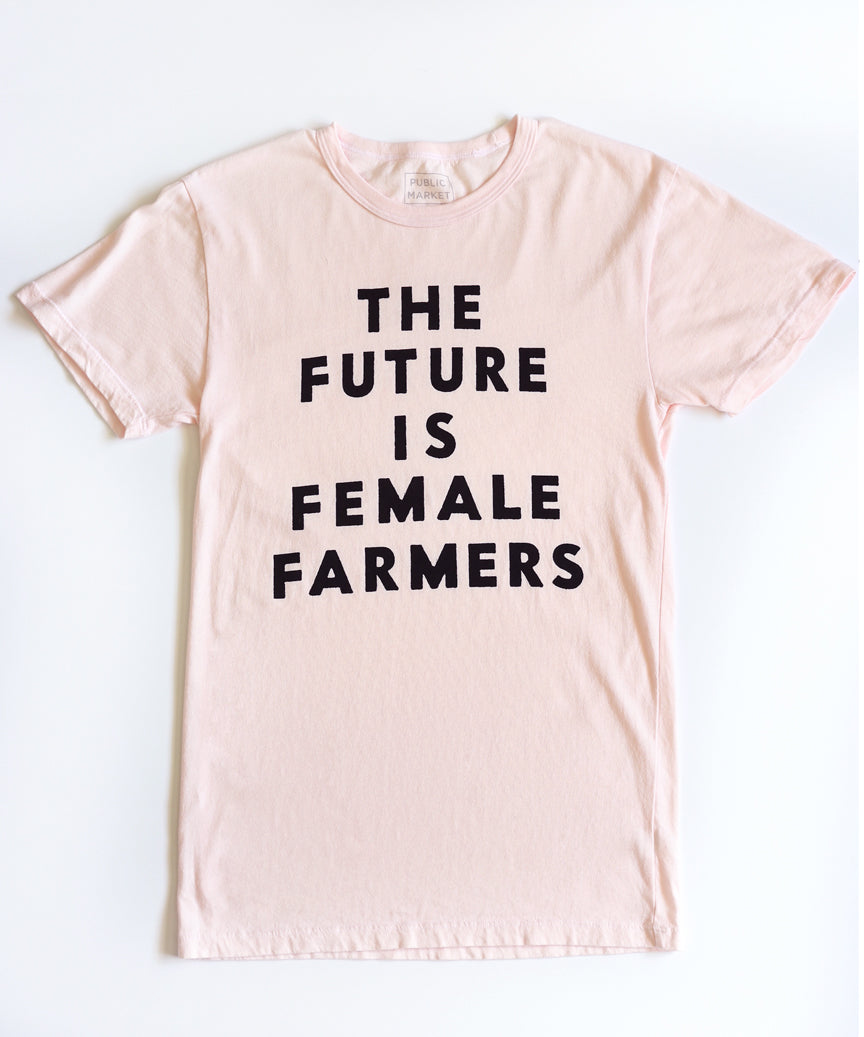 The Future is Female Farmers in Pink