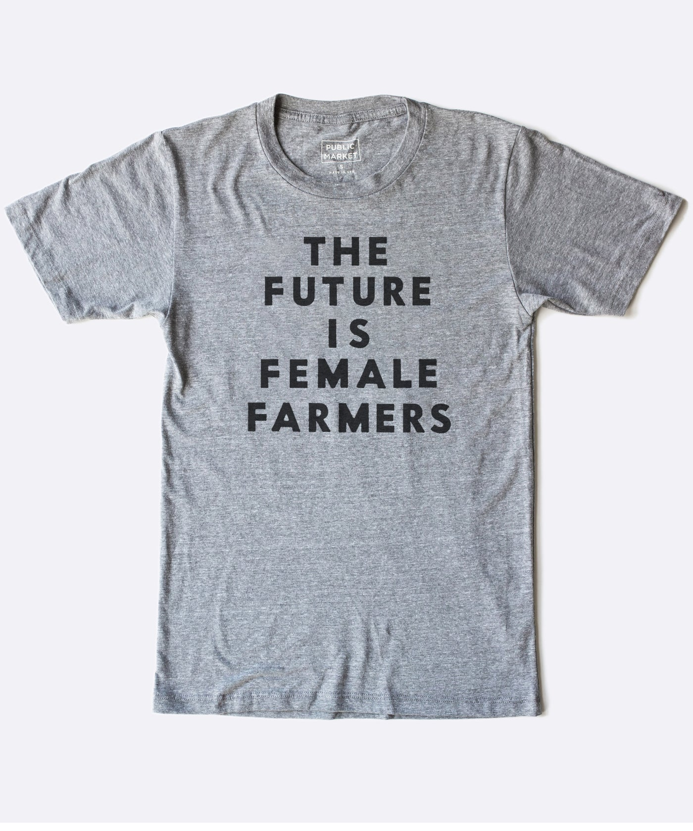 The Future is Female Farmers in Grey