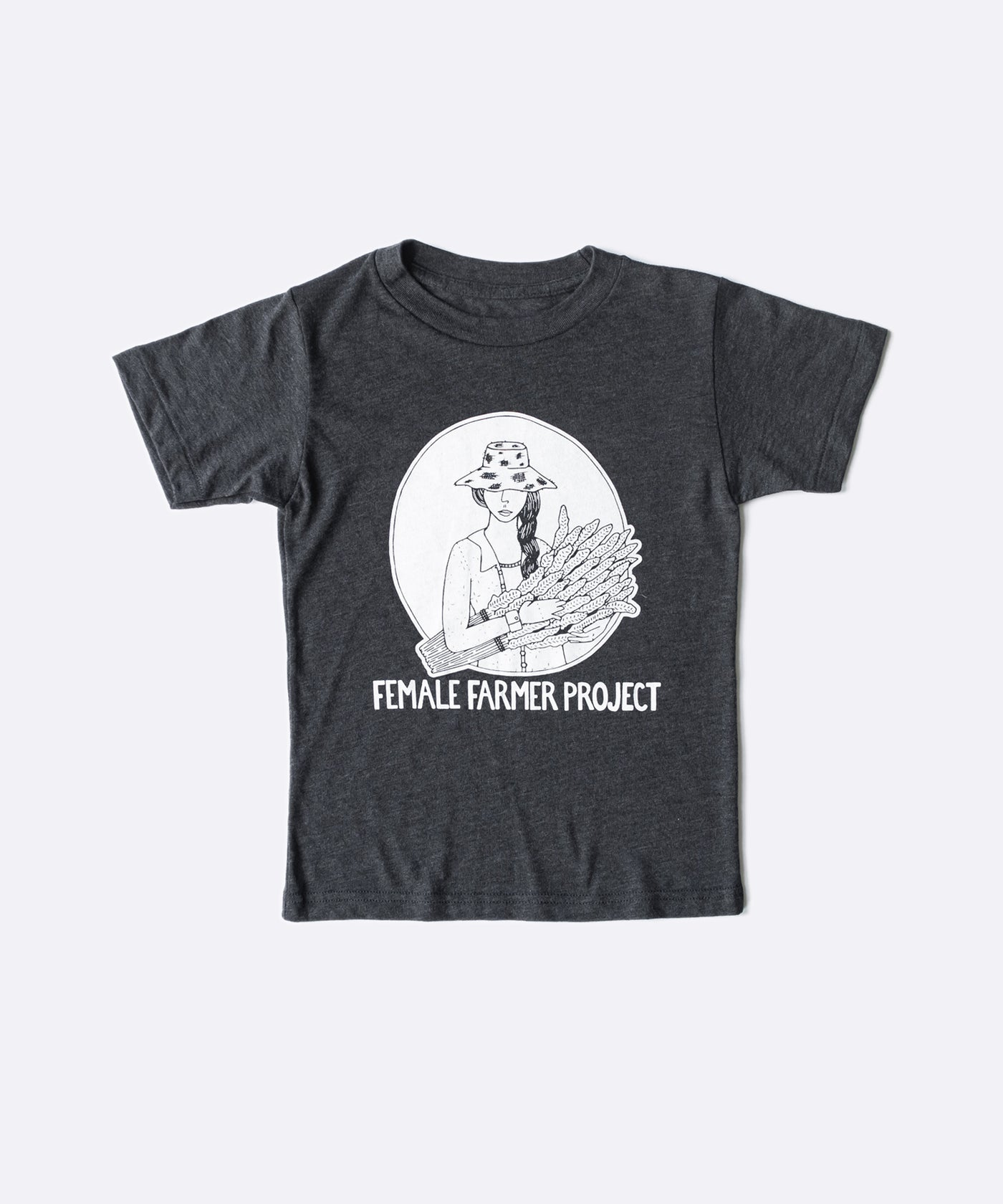 Kid's Female Farmer Project T-Shirt