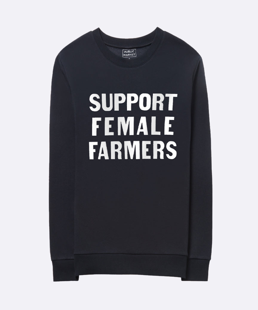 Support Female Farmers Eco Sweatshirt