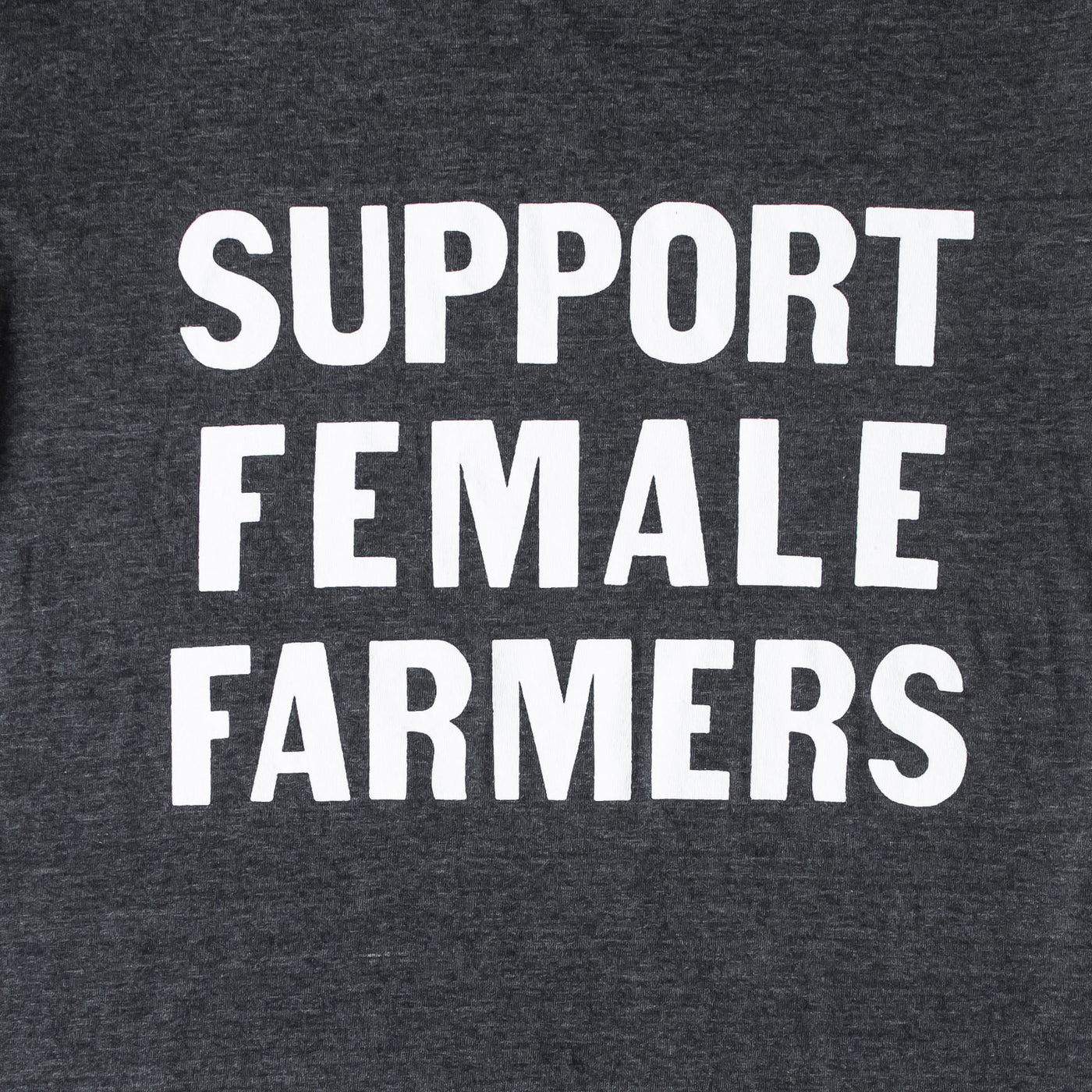 Support Female Farmers T-Shirt