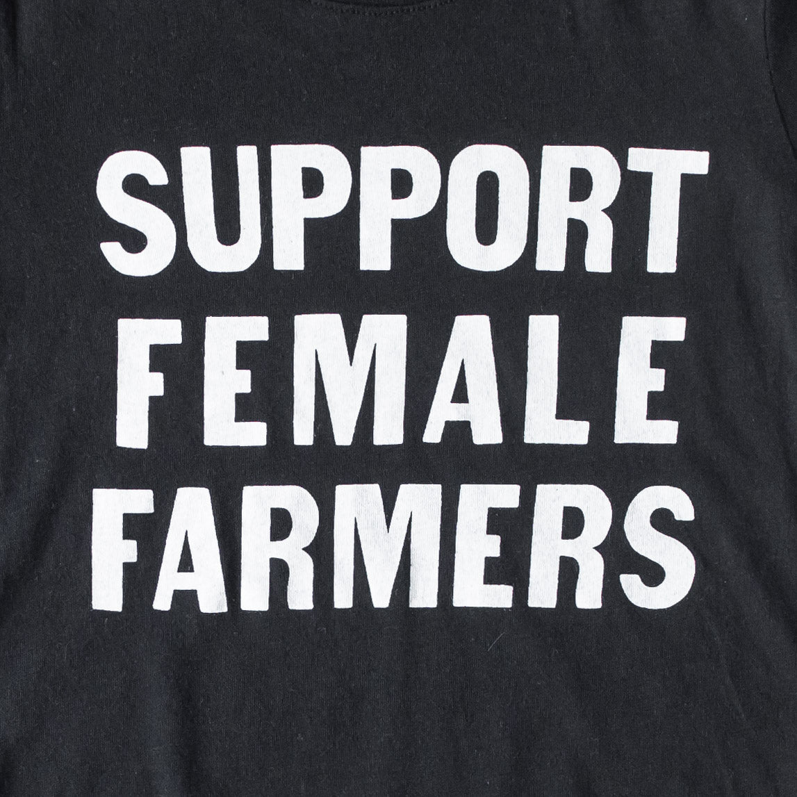 Kids Support Female Farmers T-Shirt