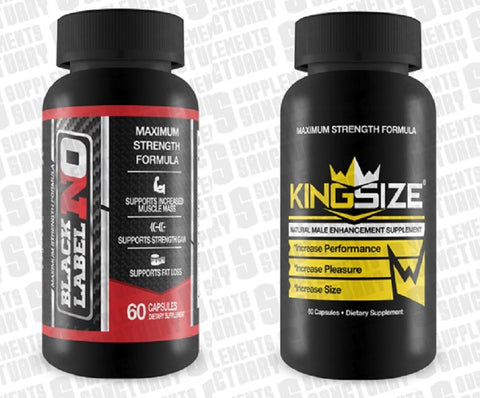 Black label no 60 capsules and Kingsize 60 capsules