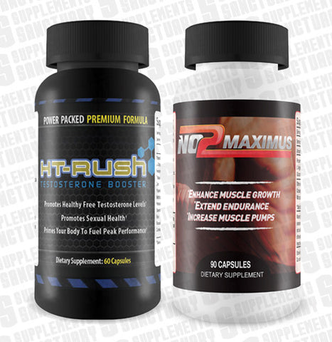 Ht Rush (60 capsules) and No2 Maximus(90 capsules)